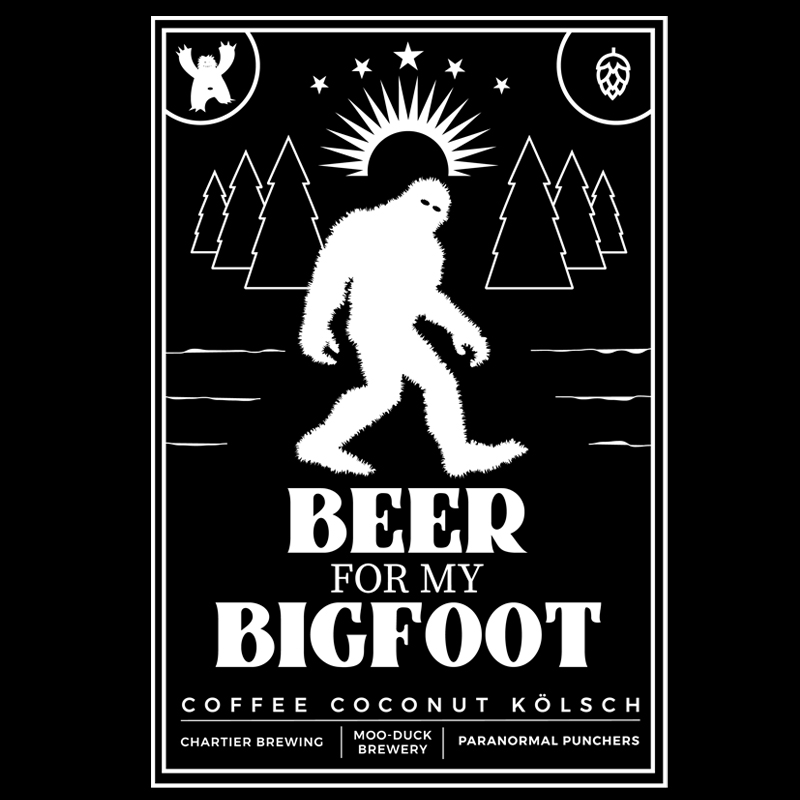 A Beer For My Bigfoot