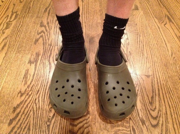 High Socks and Crocks